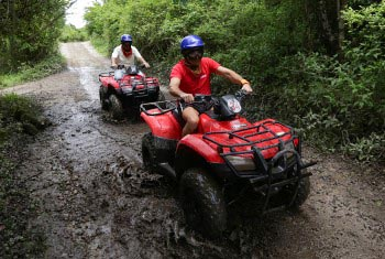 Tour Atv Single in Cozumel